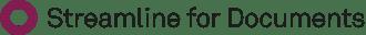 LOGO SLFD - Streamline for Documents - Violet